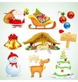 Christmas object vector