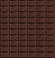 Pattern of chocolate bars vector