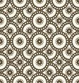 Patterns seamless circles vector