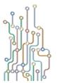 Abstract subway map vector
