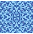 Blue triangle texture seamless pattern background vector