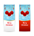 Vertical christmas banners vector
