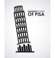 Ltower of pisa vector
