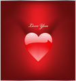 Red love vector