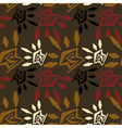 Abstract seamless texture in tribal style vector