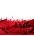 Blood splatter background vector