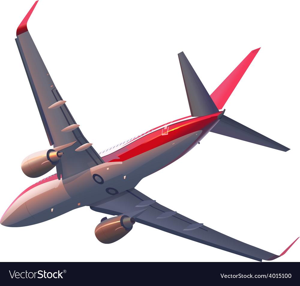 A plane vector | Price: 3 Credit (USD $3)