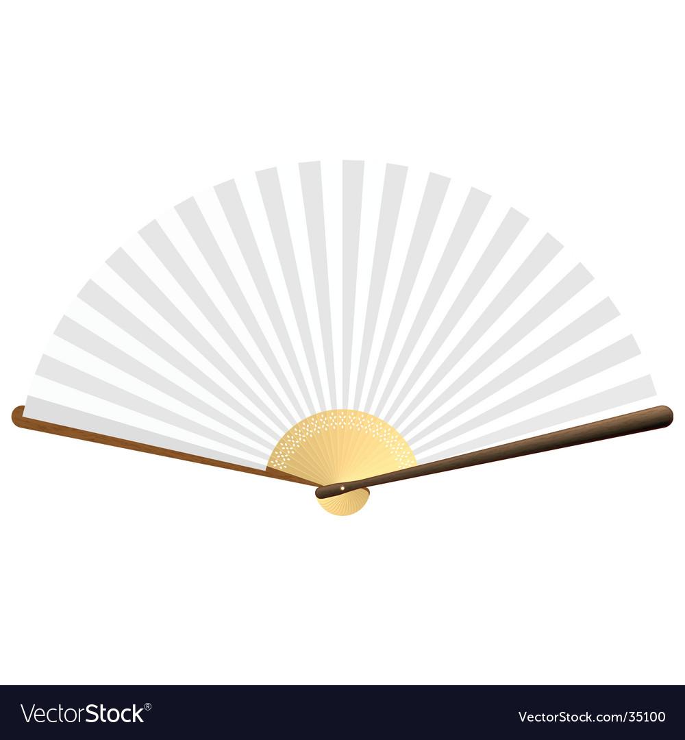 Folding fan vector | Price: 1 Credit (USD $1)