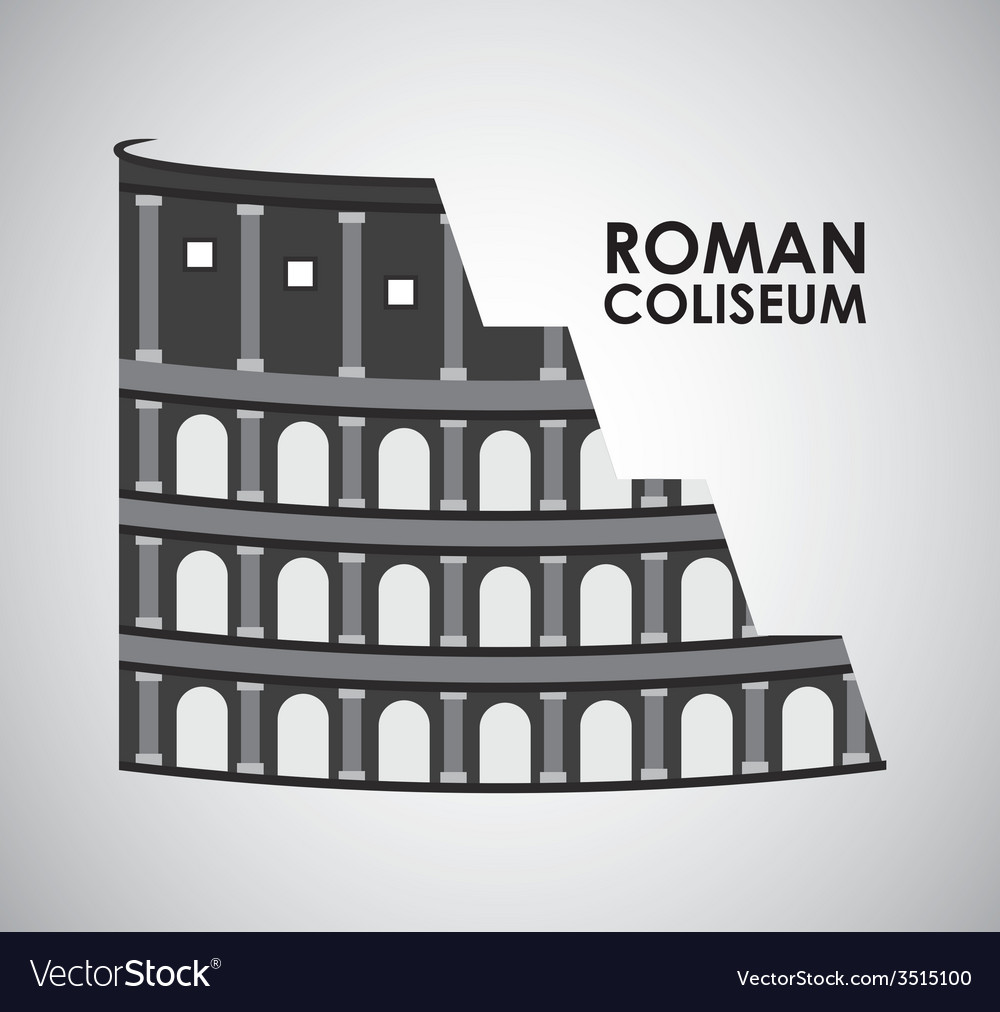 Roman coliseum vector | Price: 1 Credit (USD $1)
