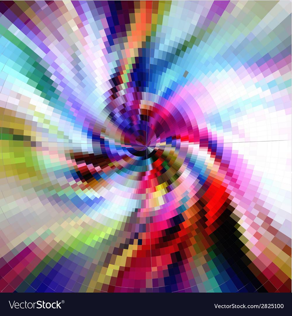 Spiral pattern ornate background vector | Price: 1 Credit (USD $1)