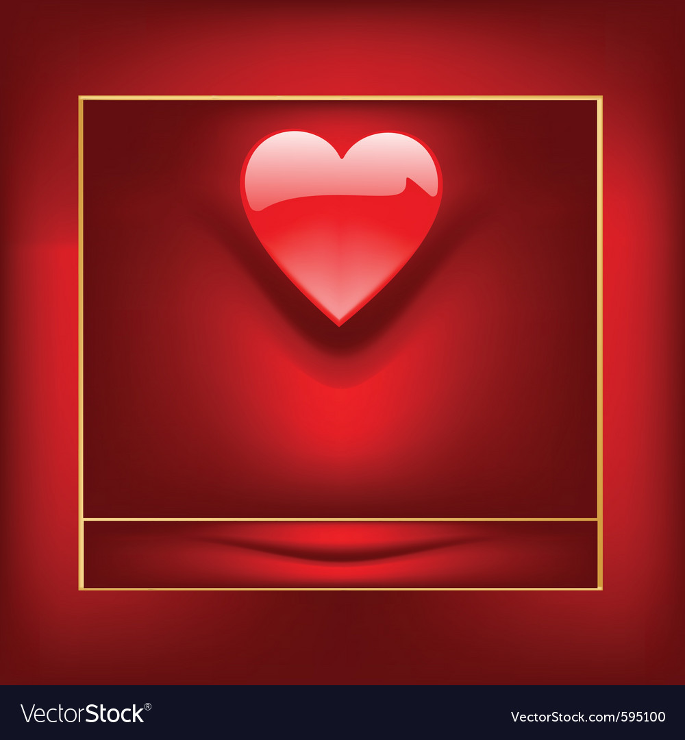 Valentine box vector | Price: 1 Credit (USD $1)