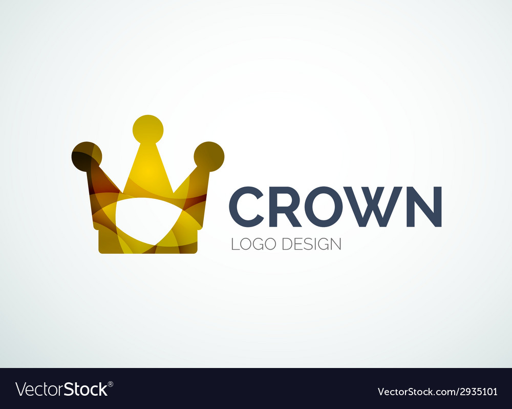 Crown logo vector | Price: 1 Credit (USD $1)