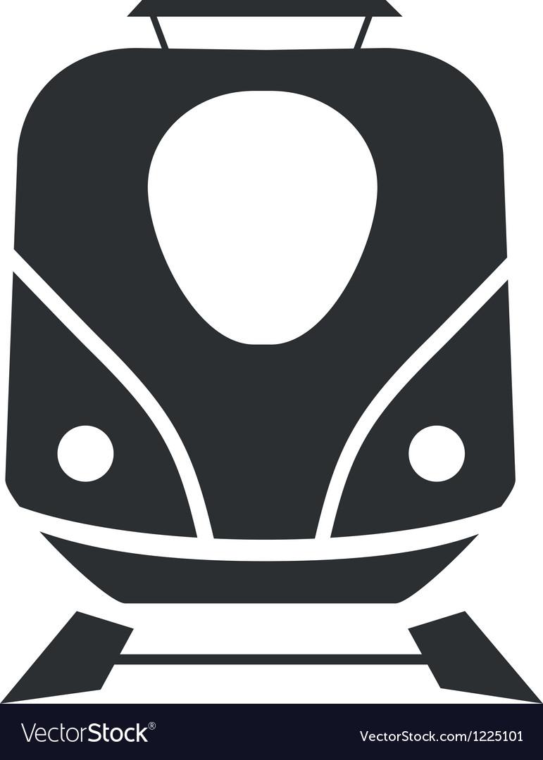 Icon train minimalist vector   Price: 1 Credit (USD $1)