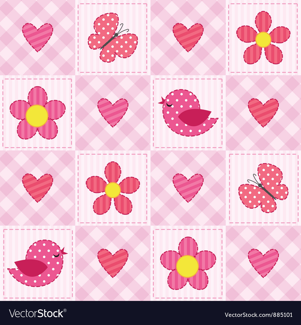 Pink pattern vector | Price: 1 Credit (USD $1)