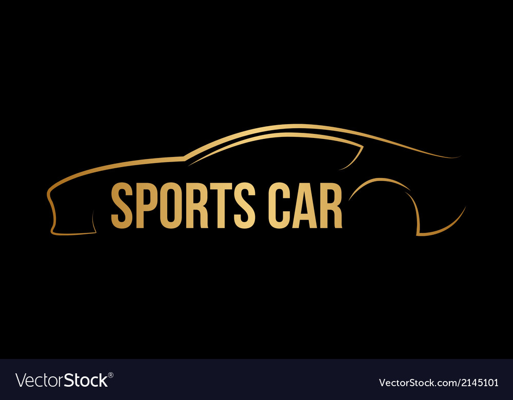 Sports car vector | Price: 1 Credit (USD $1)