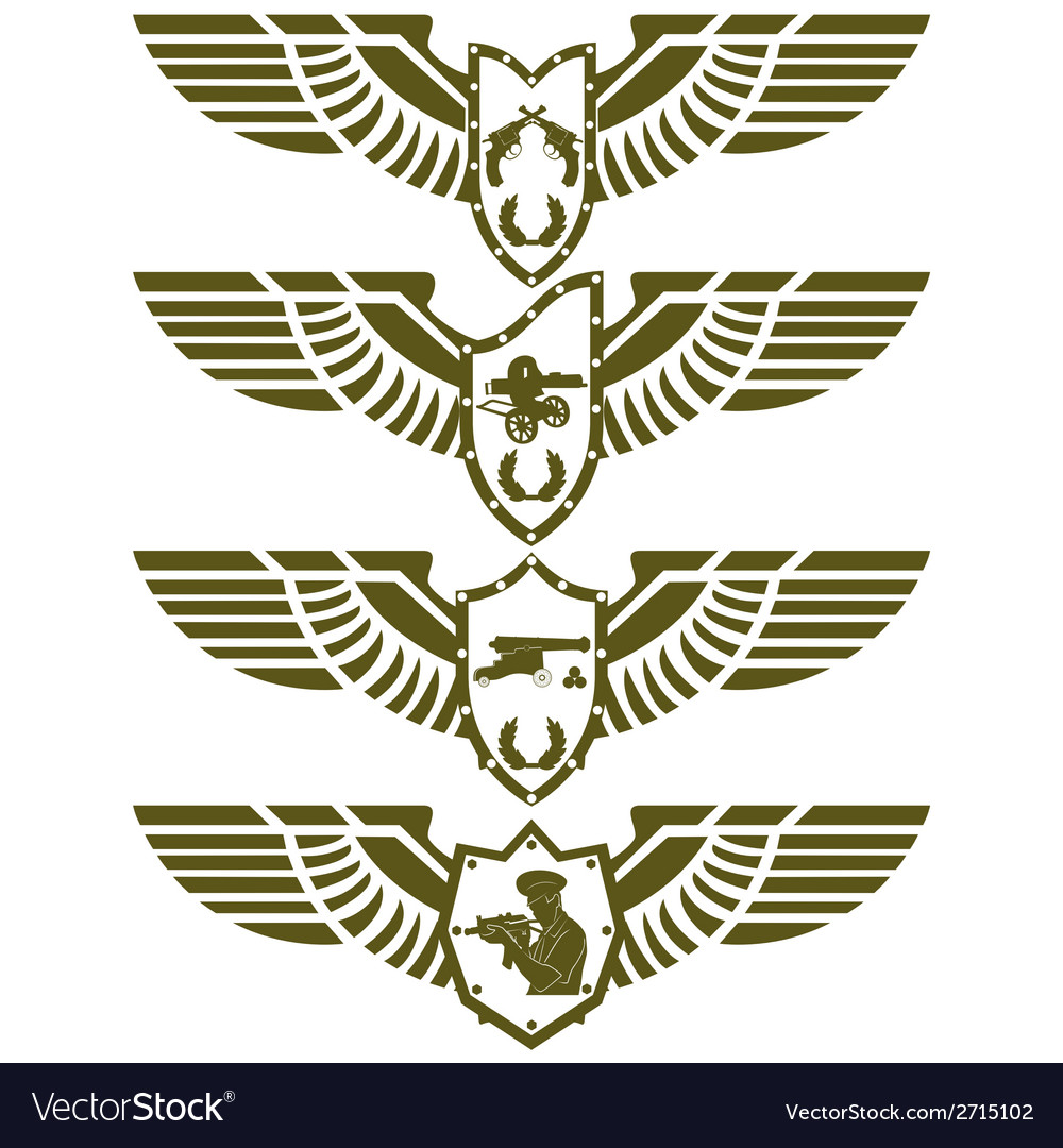 Army badges-3 vector | Price: 1 Credit (USD $1)