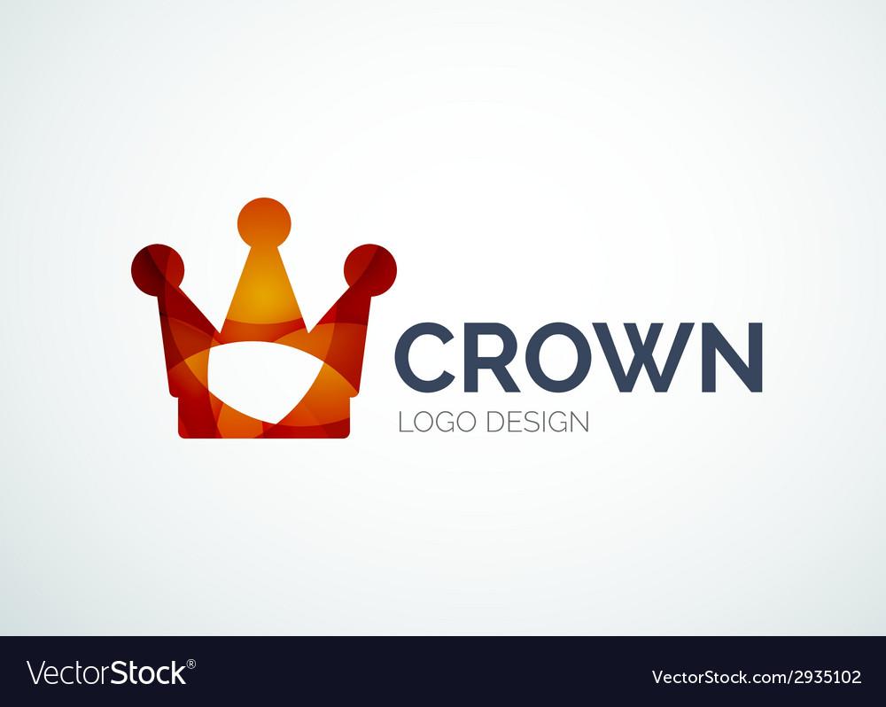 Crown logo vector | Price: 1 Credit (USD $1)