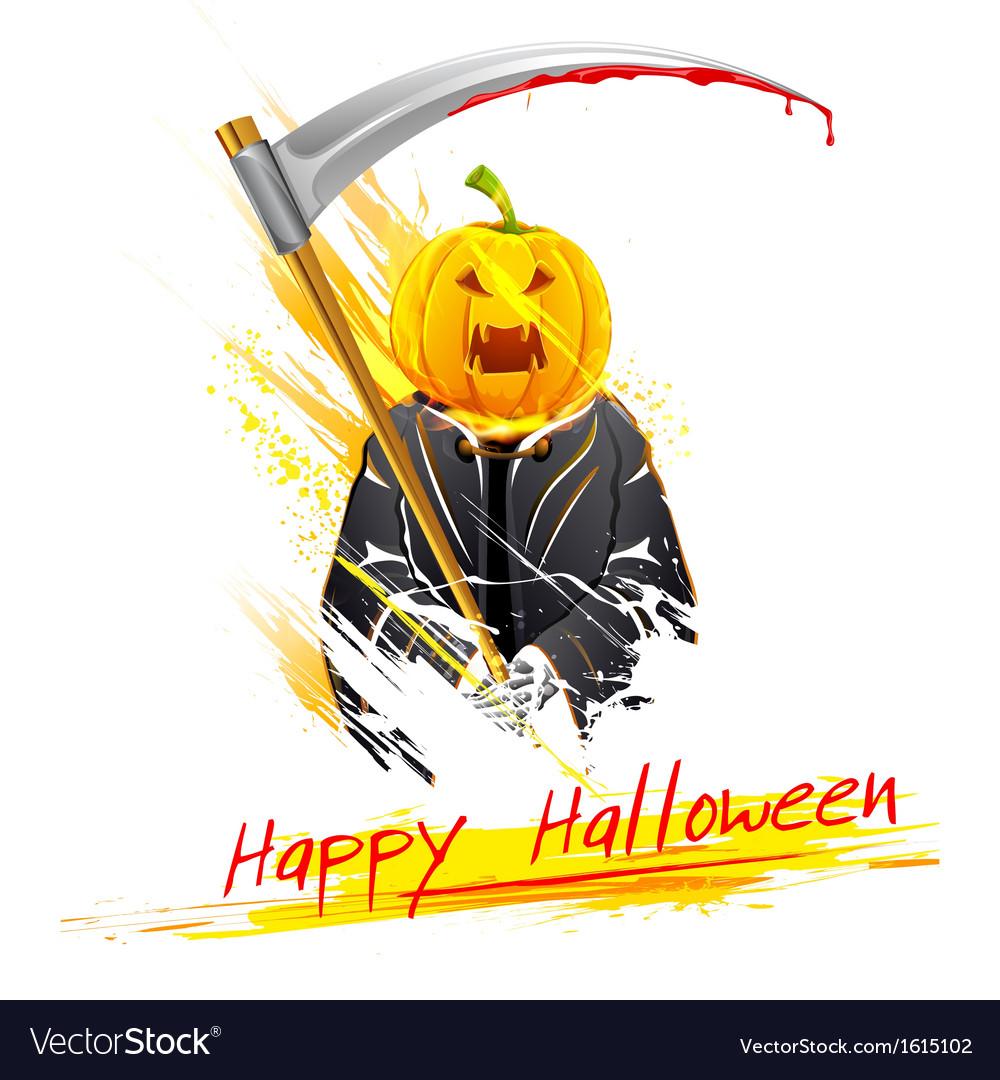 Halloween grim vector | Price: 1 Credit (USD $1)