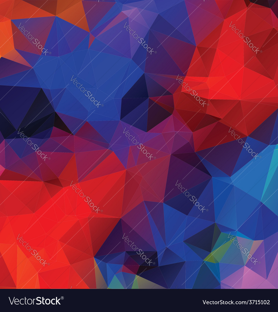 Multicolor geometric background5 vector | Price: 1 Credit (USD $1)