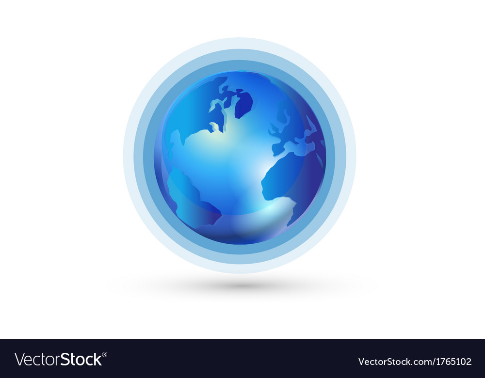 World global connection logo vector   Price: 1 Credit (USD $1)