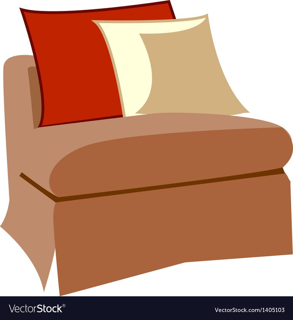 A sofa vector