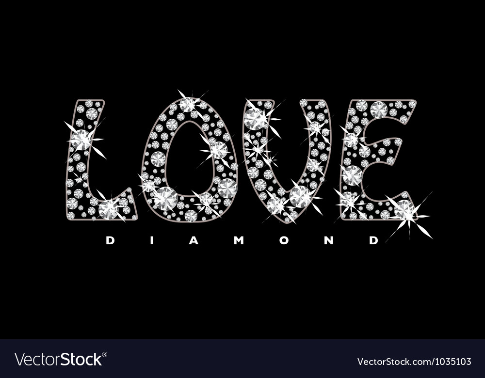 Love diamond icon vector | Price: 1 Credit (USD $1)