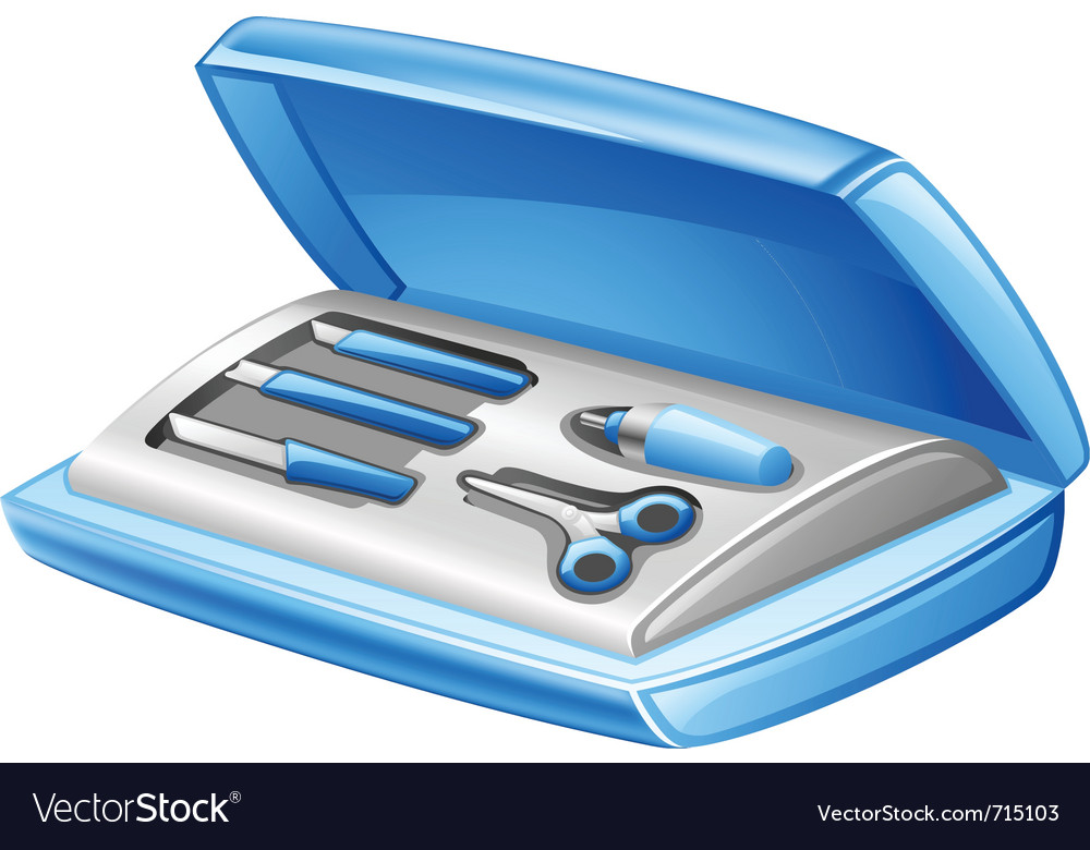 Manicure set vector | Price: 3 Credit (USD $3)