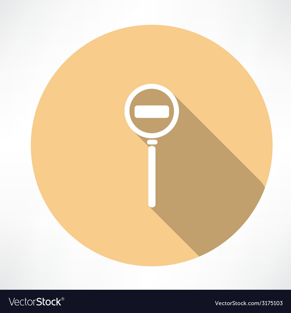Passage is prohibit icon vector | Price: 1 Credit (USD $1)