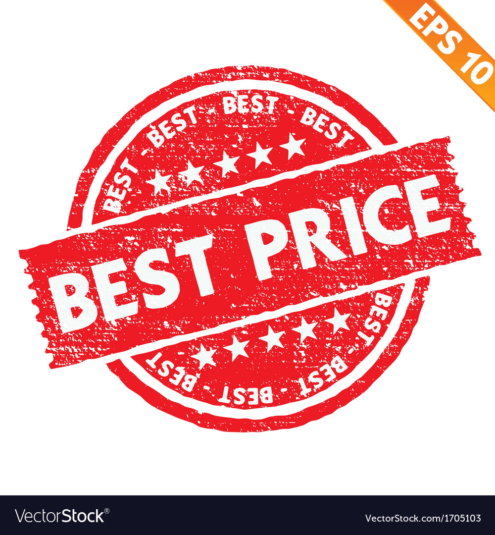 Stamp sticker best price collection - - eps vector | Price: 1 Credit (USD $1)