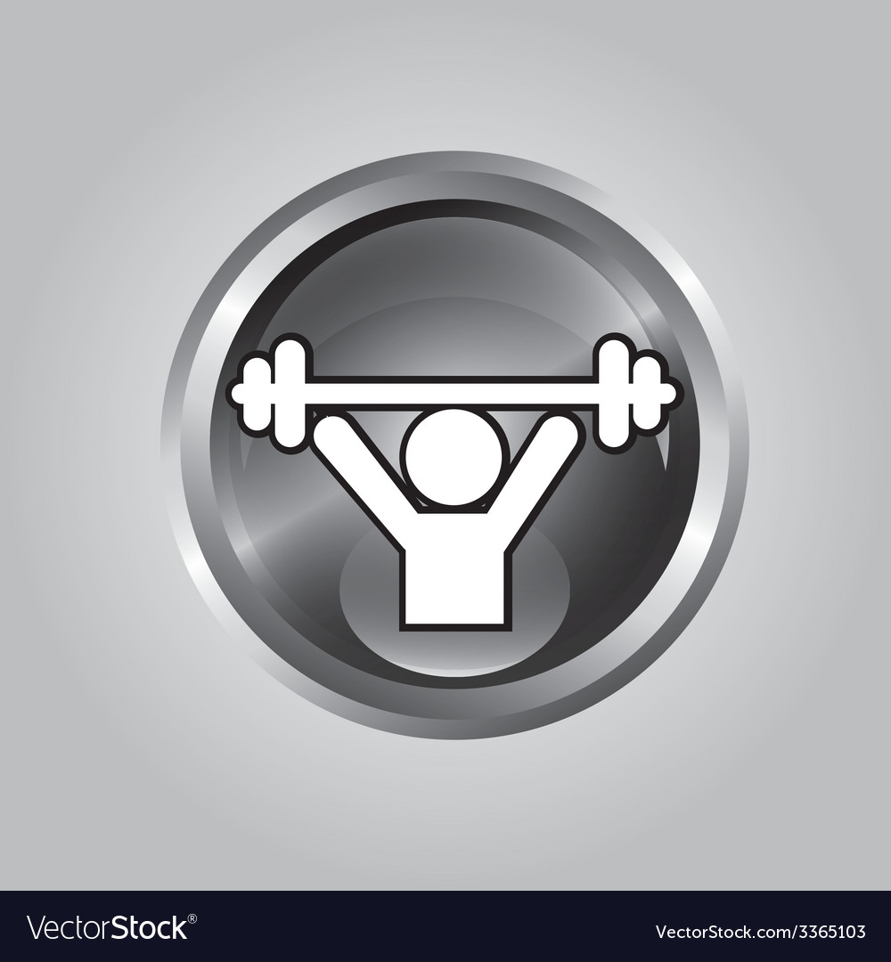 Weightlifter design vector | Price: 1 Credit (USD $1)