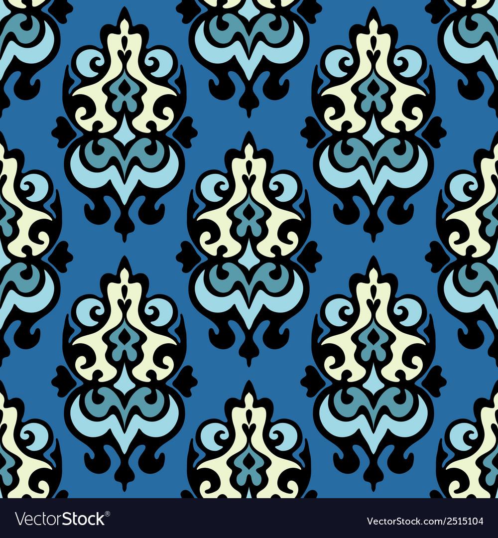 Damask seamless ornamental vector   Price: 1 Credit (USD $1)
