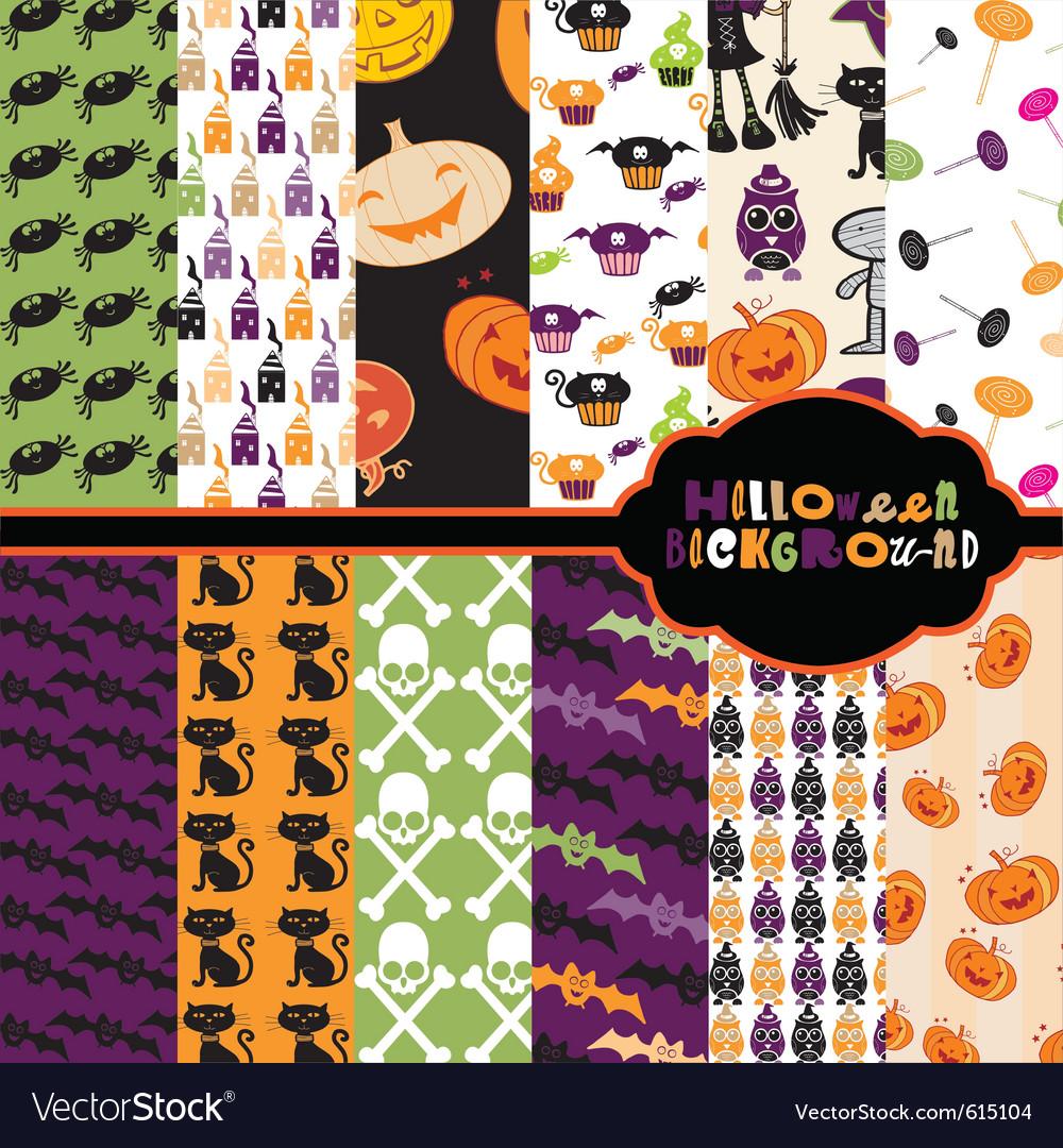 Halloween backgrounds vector | Price: 1 Credit (USD $1)