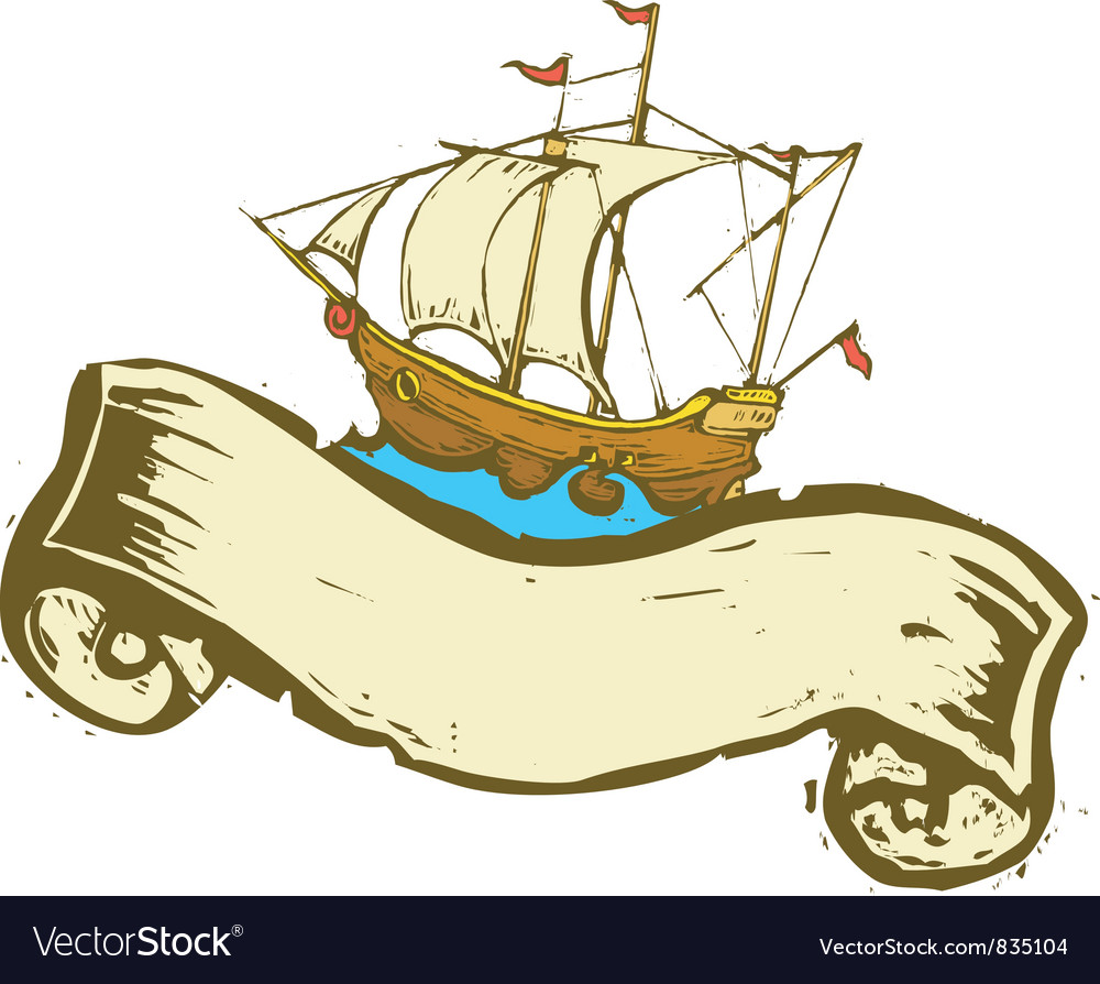 Sailing ship vector   Price: 1 Credit (USD $1)