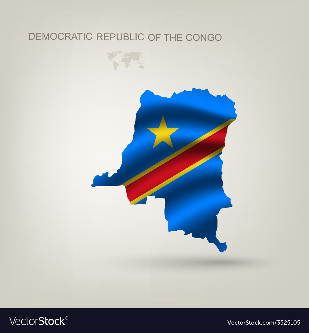 Flag of the republic of the congo as a country vector | Price: 1 Credit (USD $1)