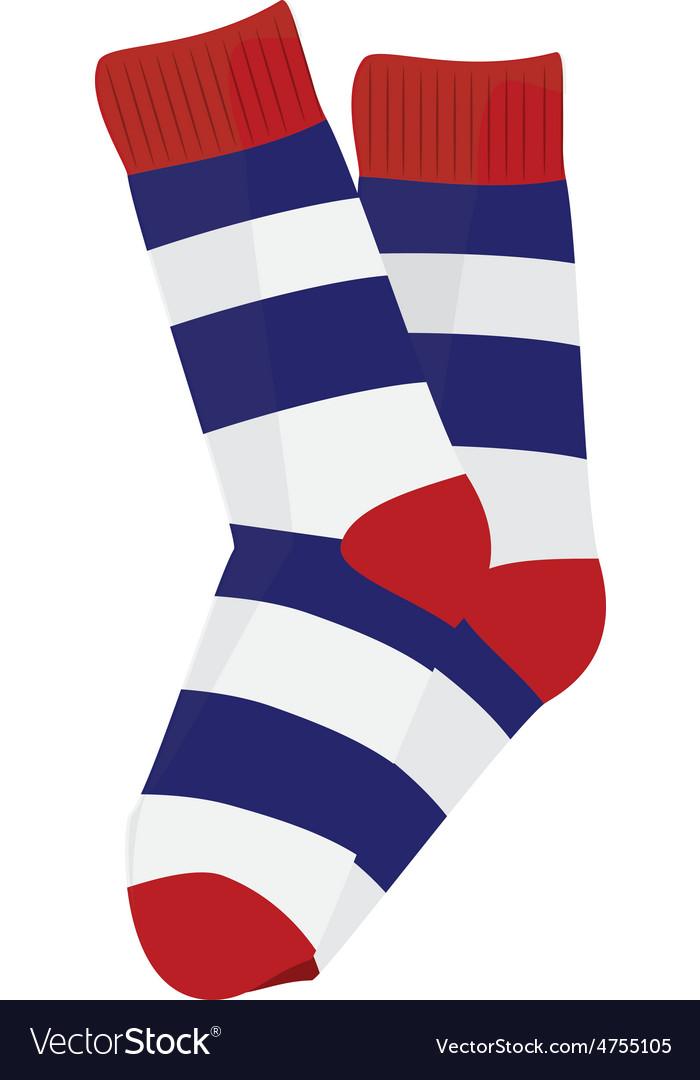Striped socks vector   Price: 1 Credit (USD $1)