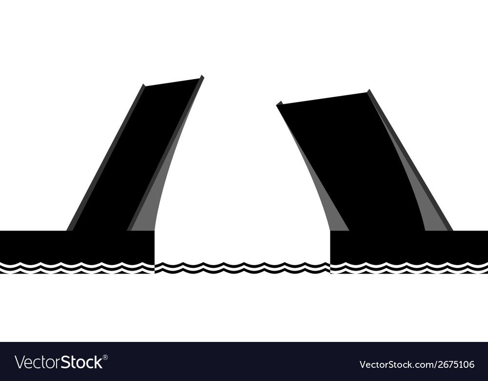 The drawbridge vector | Price: 1 Credit (USD $1)