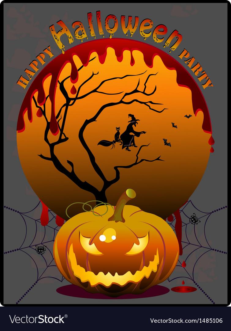 Halloween party vector | Price: 3 Credit (USD $3)