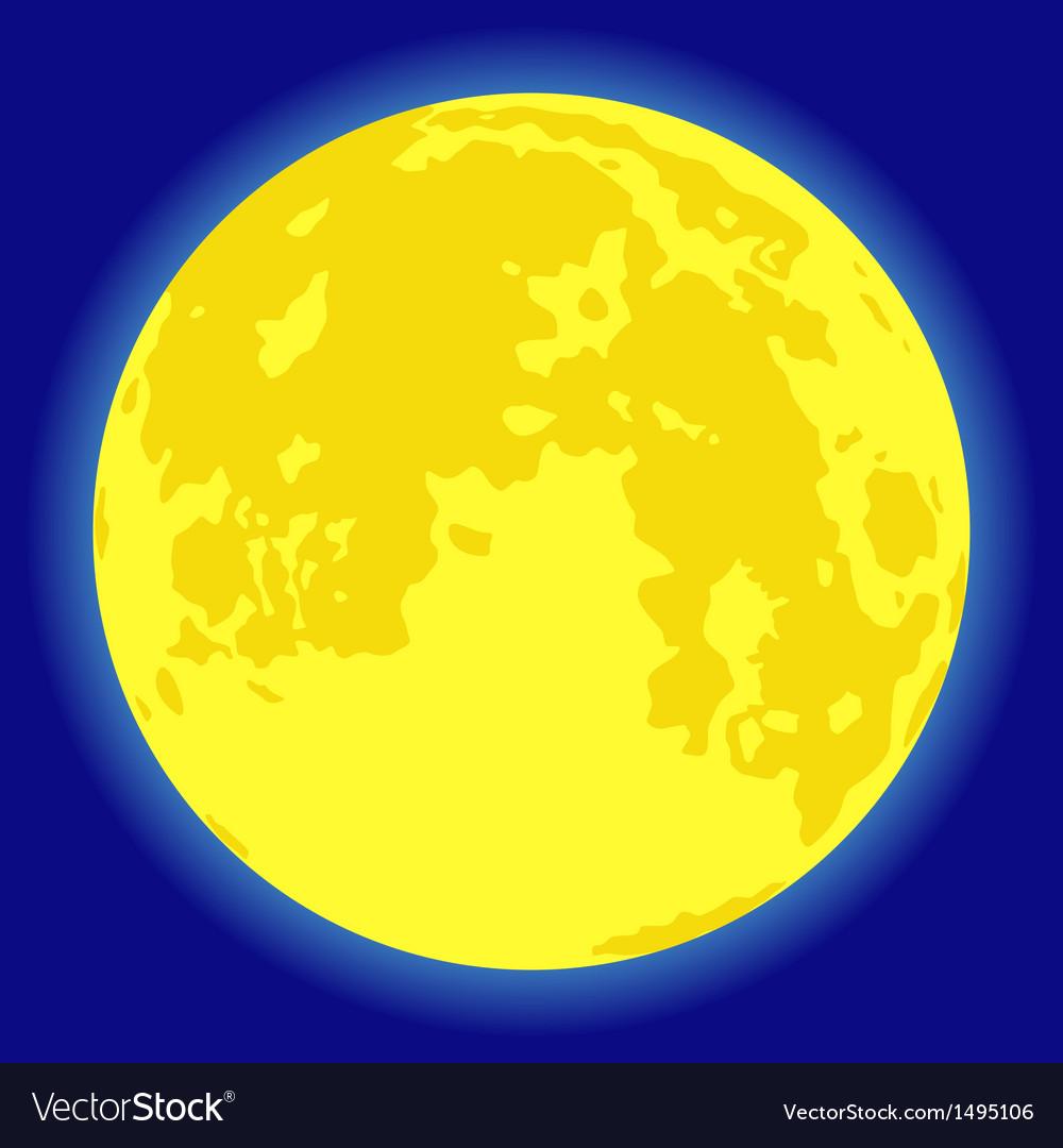 Moon vector   Price: 1 Credit (USD $1)