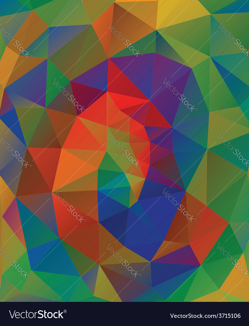 Multicolor geometric background6 vector | Price: 1 Credit (USD $1)