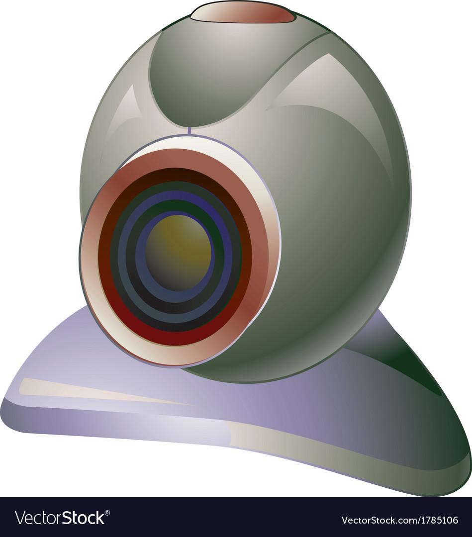 Webcam vector | Price: 1 Credit (USD $1)