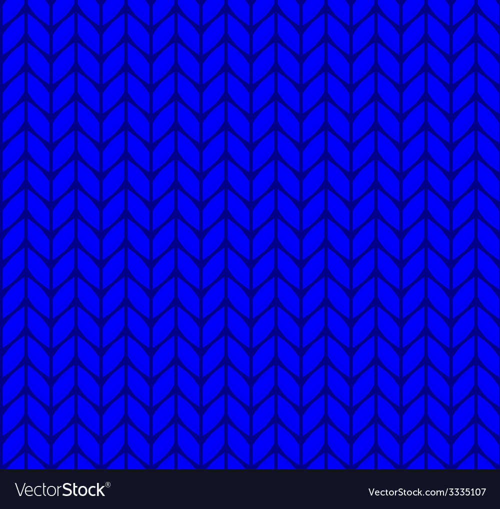 Flat knitting seamless pattern vector | Price: 1 Credit (USD $1)