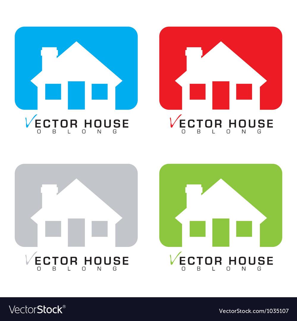 House icon set vector | Price: 1 Credit (USD $1)