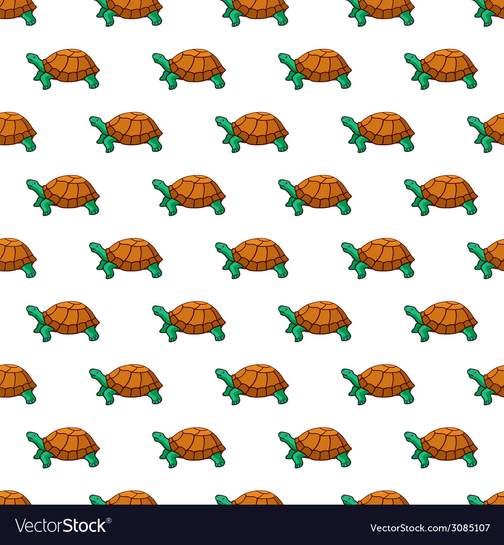 Turtles pattern vector | Price: 1 Credit (USD $1)