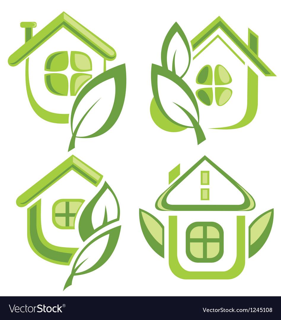 Eco symbol vector | Price: 1 Credit (USD $1)