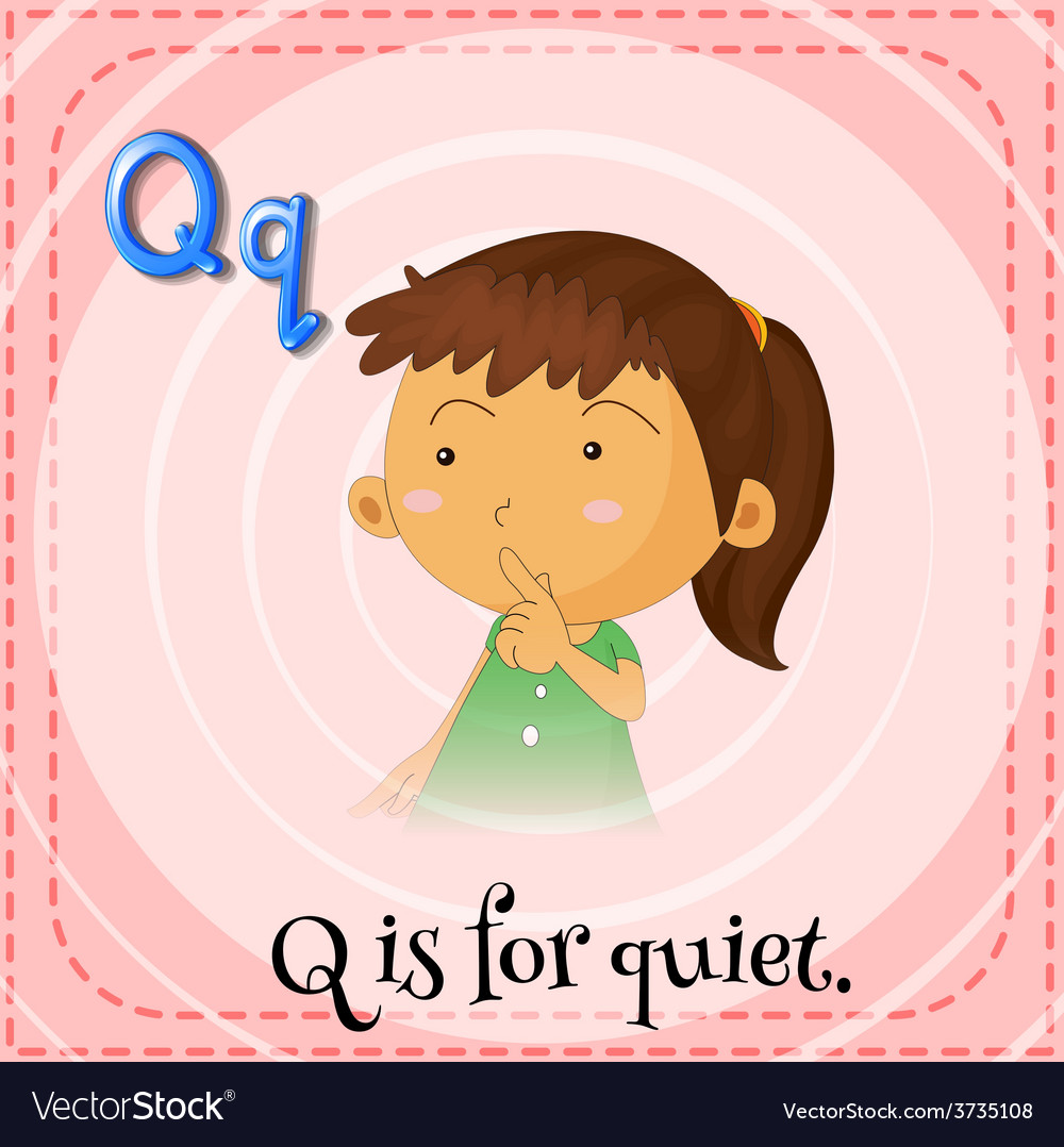 Letter q vector | Price: 1 Credit (USD $1)