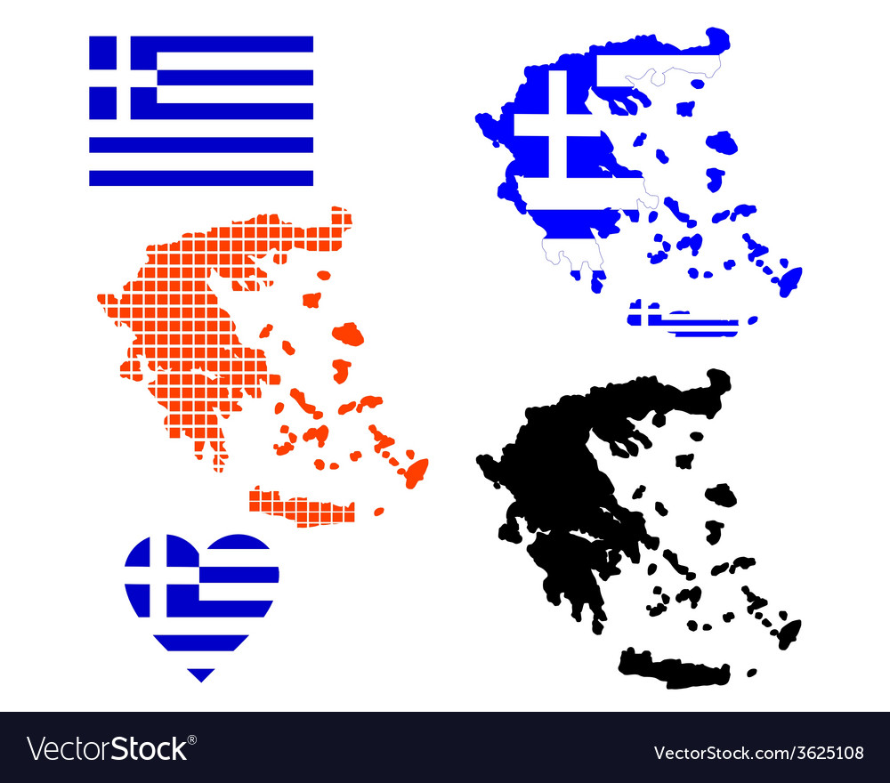 Map of greece vector   Price: 1 Credit (USD $1)