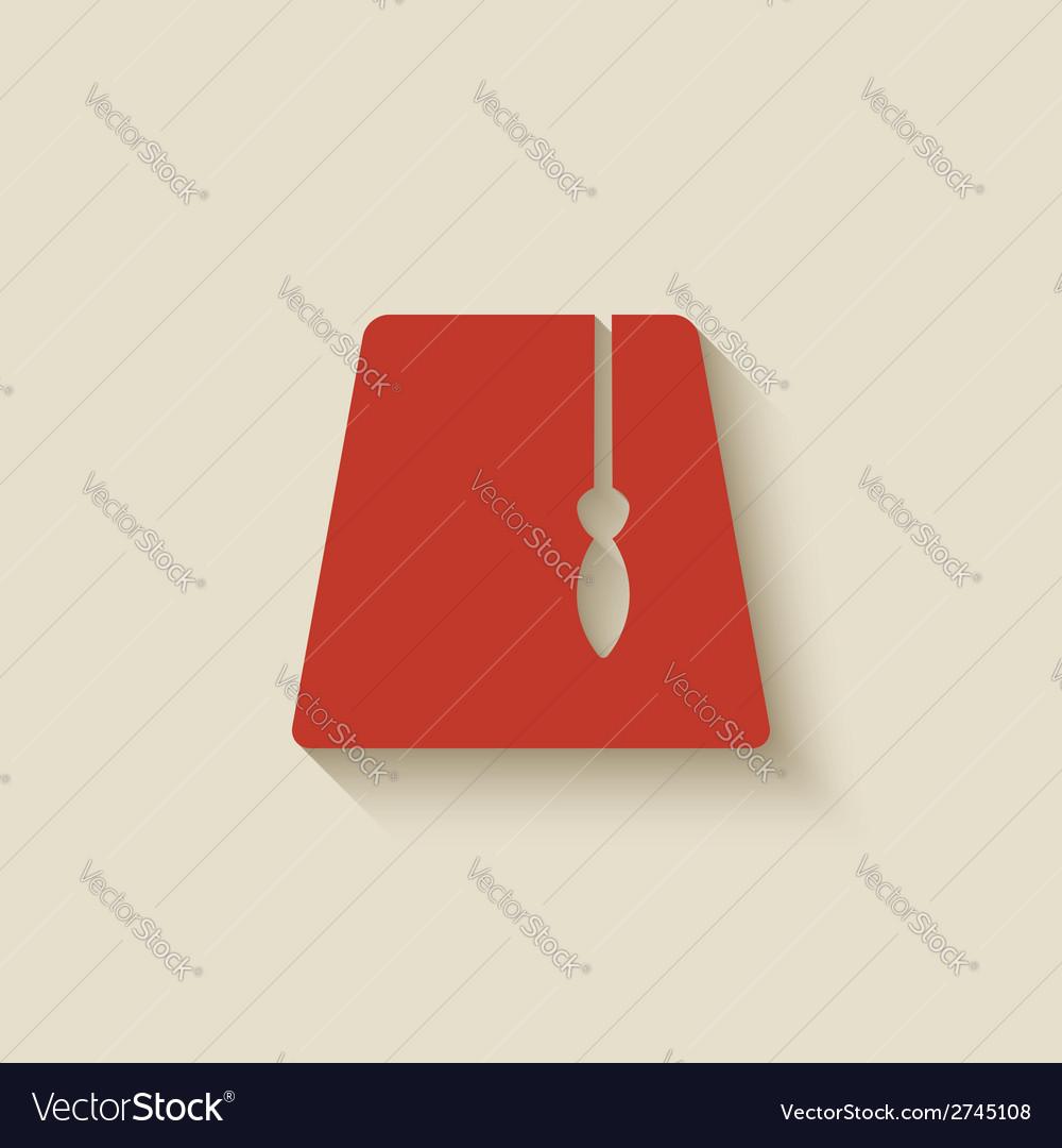 Red fez design element vector   Price: 1 Credit (USD $1)
