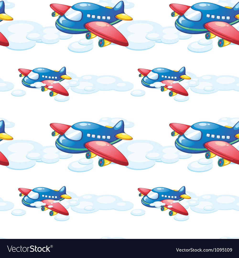 An airplane vector | Price: 1 Credit (USD $1)