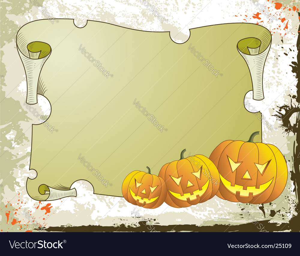Background halloween vector | Price: 1 Credit (USD $1)