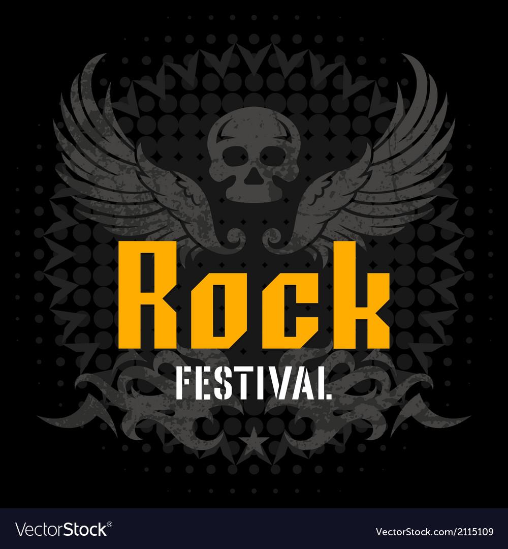 Rock festival vector | Price: 1 Credit (USD $1)